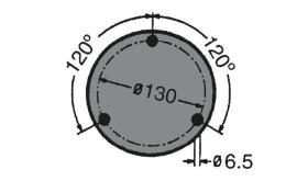 ATRESSA ILUMINACION 400 - LUZ ROTATIVA ÁMBAR BASE FLEX BARRA 24V H1