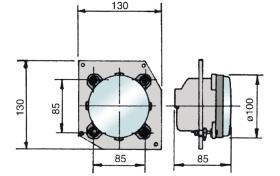 ATRESSA ILUMINACION 40305 - FARO RUTA CON LENTE 12V 55W H3