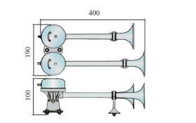 ATRESSA ILUMINACION 581100 - BOCINA ELECTMAG.GRV.24V CR.