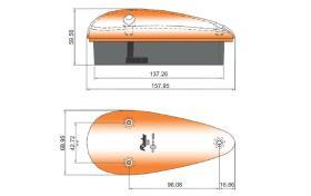 ATRESSA ILUMINACION 926A00 - INTERMITENTE LATERAL 12V