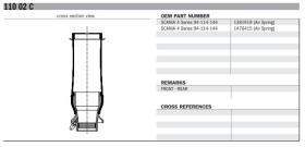 Black Tech KB11002C - FUELLE CABINA COMPLETO SCANIA S3