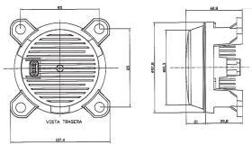 ATRESSA ILUMINACION 41400 - FARO ANTINIEBLA CON LENTE CON SOPORTE 12V 55W H3