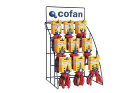 Cofan 04500961 - Expositor Alicates Alto Rendimiento (36 Unidades)