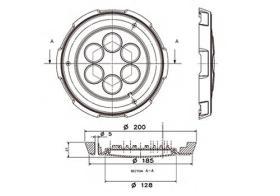 ATRESSA ILUMINACION 56856 - LUZ INTERIOR 3 LED SUPERFICIE