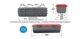 ATRESSA ILUMINACION EX100650 - CONECTOR CON CABLE 1000 MM