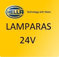 LAMPARAS 24V  HELLA