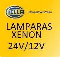 LAMPARAS XENON 12V/24V  HELLA